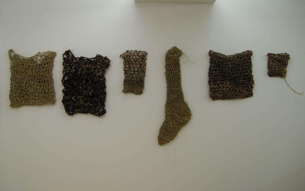Fibre bags by Joanne B Kaar