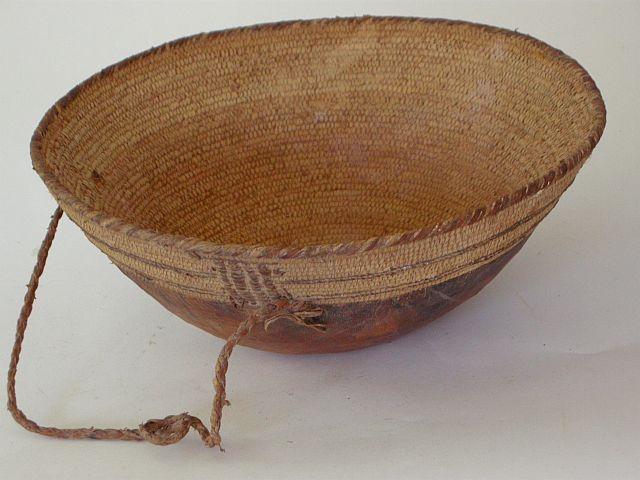 Camel milking basket Oman collection of Jenny Balfour Paul
