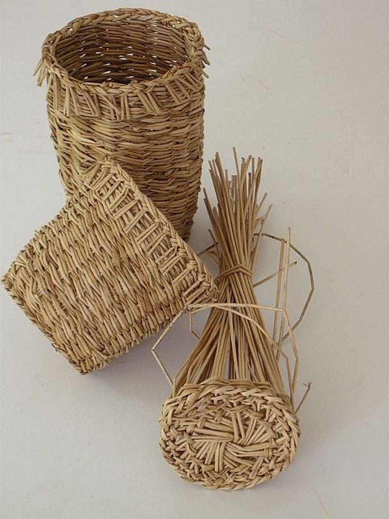 Italian ricotta making baskets
