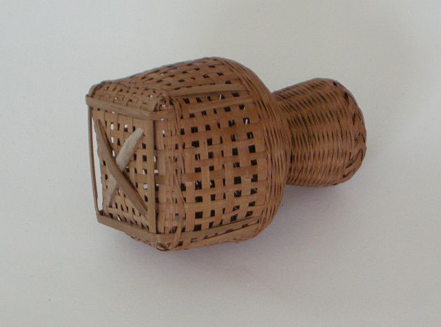 Japanese basket to hold small fish