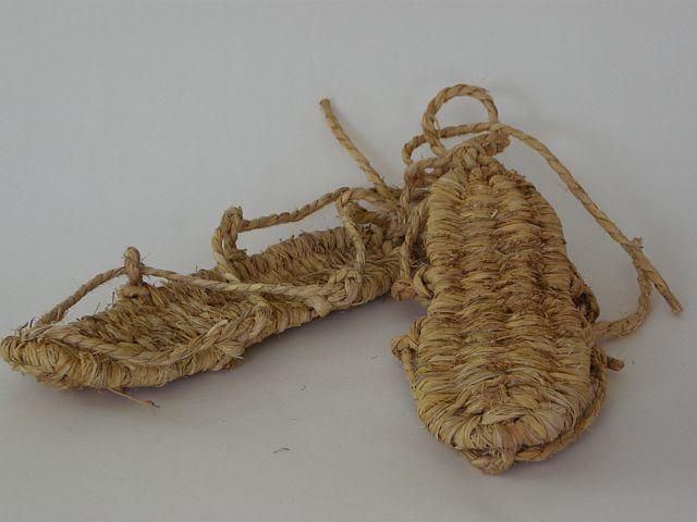 Japanese rice straw sandals