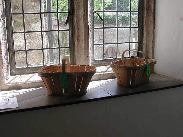 Devon stave baskets by Frank Wells