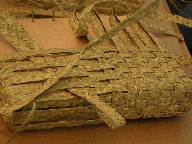 Azorean crafts rushwork