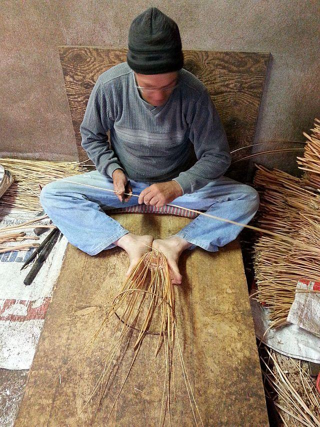 Azores basketmaking