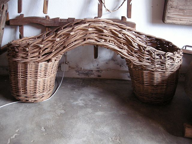 Azores traditional pannier basket